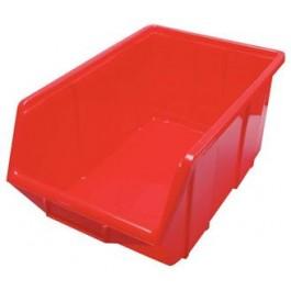 Box stohovaci cerveny vel.- 4   355x220x165mm (10x)
