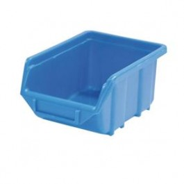 Box stohovaci modrý vel.- 2   165x110x  75mm (35x)