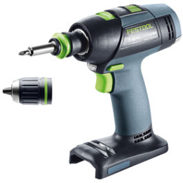 FESTOOL aku skrutkovač T 18+3 Li-basic + Festool SERVICE all-inclusive