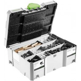 FESTOOL sortiment spoj.prvkou DOMINO SV-SYS D14 + Festool SERVICE all-inclusive