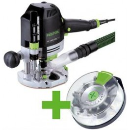 FESTOOL OF 1400 EBQ-Plus + Box-OF-S 8/10x HW + Festool SERVICE all-inclusive