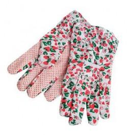 Rukavice  bavlnené záhradnícke, PVC, veľ. 8,5