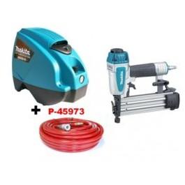MAKITA MAC610 + AF505N + P-45973 kompresor