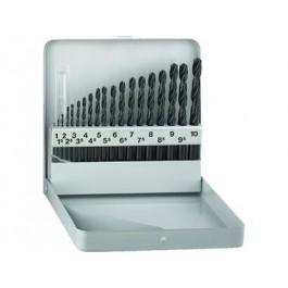 ALPEN 19-dielna sada vrtákov HSS 1-10 mm