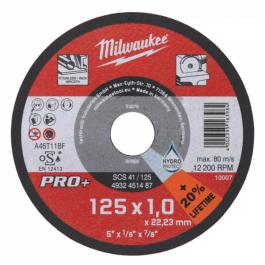 MILWAUKEE kotúč rezný 125x1,0x22,23 mm