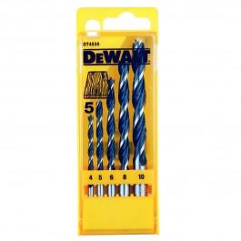DEWALT DT4535 vrtáky do dreva 5-dielna sada 4/5/6/8/10mm