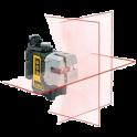DEWALT DW089KD laser multiline + statív + prijímač