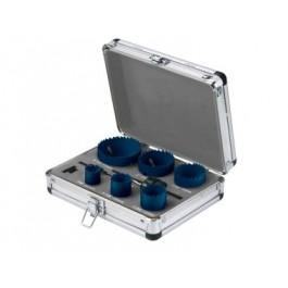 RAXX vykružovacie korunky HSS-Bim vhliníkovom kufríku (9ks)