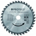 PROTECO 125(40z)x1,8x22,2 kotúč pílový do uhl. brúsky