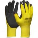 GEBOL ProTex v.9 pracovné rukavice žlté