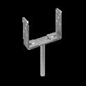 """DOMAX PSRU 60-200 Patka stlpu """"U"""" stavitelná 60-200x136x4,0"""