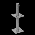 DOMAX PSR 80 (80x250) Pätka stĺpiku nastav. Skrutka d 24