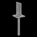 DOMAX PSW 70 Obojstranná pätka 71x338x130 mm
