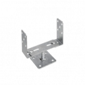 "DOMAX PSRT 60-200 Patka stlpu  ""U"" stavitelná 60-200x136x4,0"