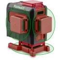 FORTUM Vodováha laserová samonivelačná 3D zelený laser
