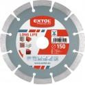 EXTOL 108915 DIA kotúč rezný 230mm segmentový LONG LIFE