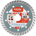 EXTOL 108955 DIA kotúč rezný 230mm turbo LONG LIFE