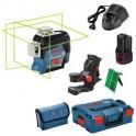 BOSCH GLL 3-80 CG +BM1 + L-Boxx 0.601.063.T00 líniový laser
