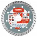 EXTOL Premium diamantový kotúč Turbo Long Life 125mm 108952