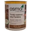 OSMO 3073 olej voskový tvrdý hnedá zem 0,75l