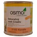 OSMO 3183 dekoračný vosk Creativ korál 0,375l
