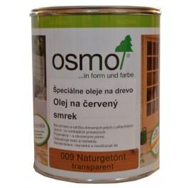 OSMO 009 olej špeciálny na červený smrek prír. sfarb. 0,75 l