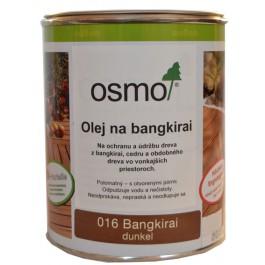 OSMO 016 olej špeciálny na bangkirai tmavý 2,5l